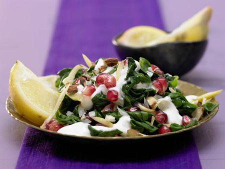 Marokkanischer Spinatsalat