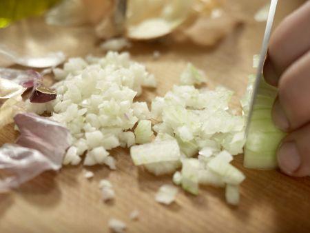 Marokkanischer Spinatsalat: Zubereitungsschritt 2