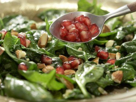 Marokkanischer Spinatsalat: Zubereitungsschritt 7