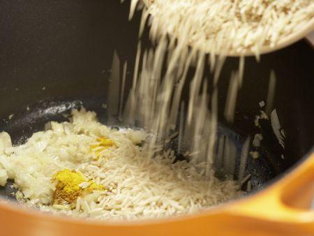Marokkanisches Hähnchen: Zubereitungsschritt 8
