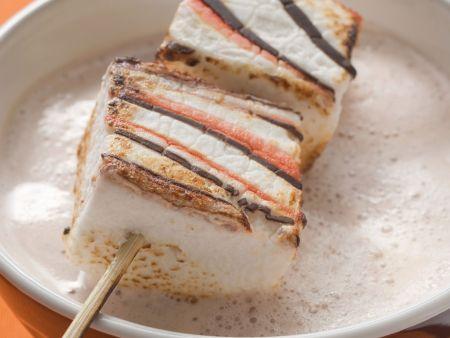 Marshmallow-Spieß zu Halloween