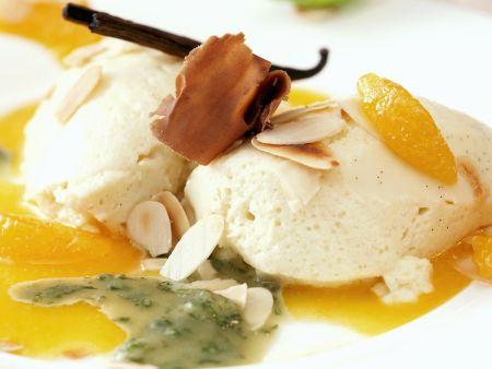 Rezept: Marzipancreme mit Orangensoße