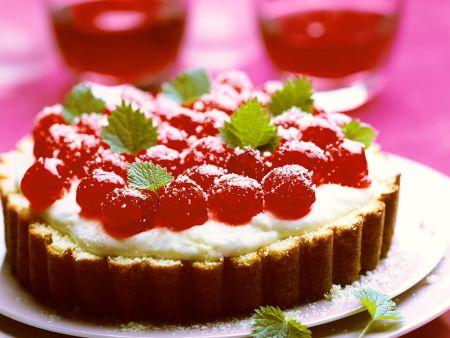 Mascarpone-Kirschkuchen