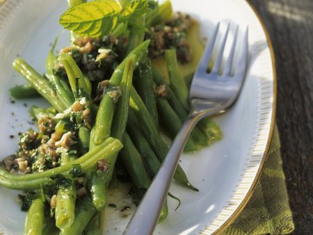 Mediterraner Grüner Bohnen Salat
