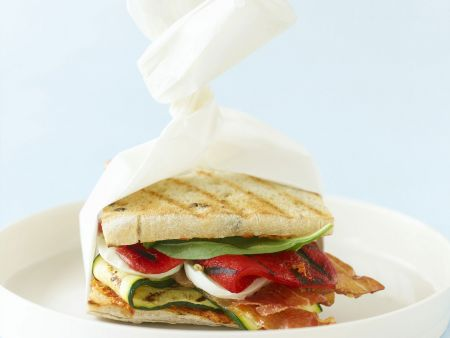 Rezept: Mediterranes Sandwich