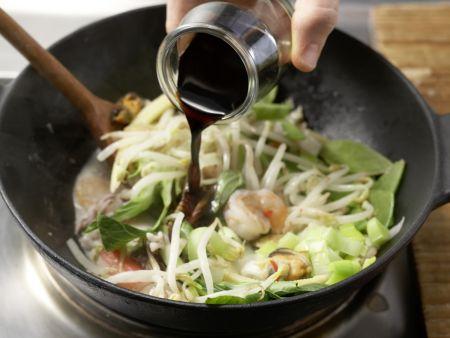 Meeresfrüchte-Pfanne: Zubereitungsschritt 10