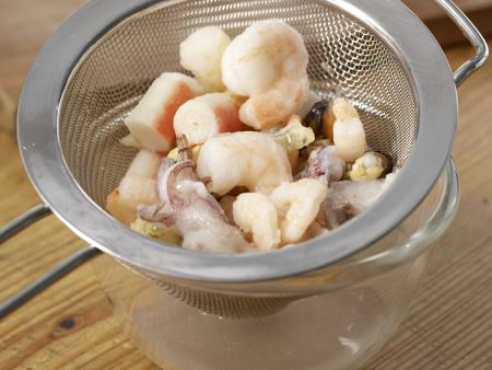 Meeresfrüchte-Pfanne: Zubereitungsschritt 7