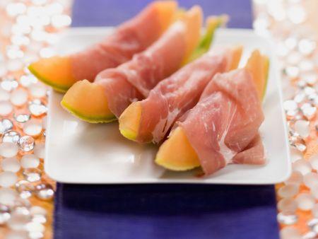 Rezept: Melone mit Schinken
