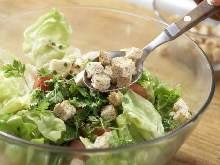 Melonen-Mozzarella-Salat: Zubereitungsschritt 10