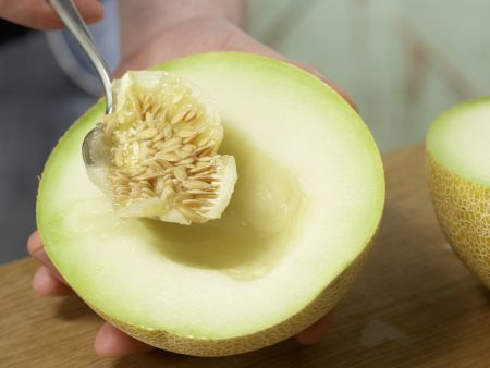 Melonenmarmelade: Zubereitungsschritt 2