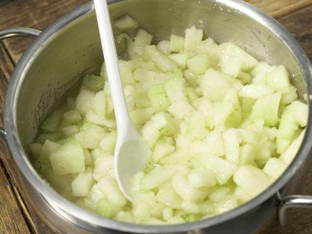 Melonenmarmelade: Zubereitungsschritt 4
