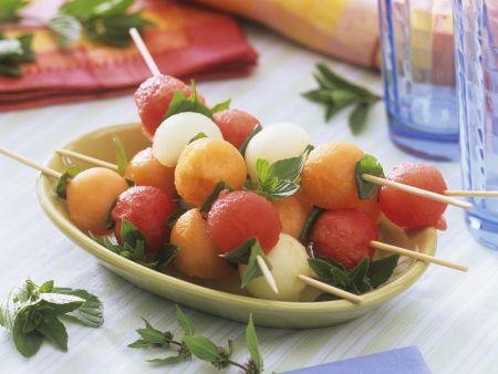 Melonenspieße