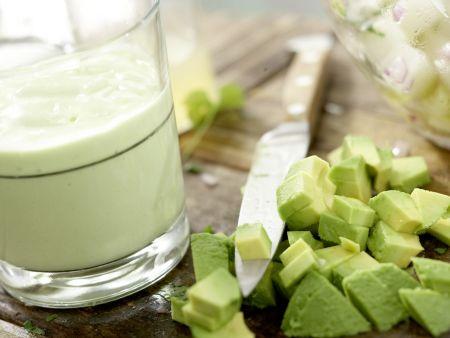 Mexikanischer Hähnchensalat: Zubereitungsschritt 10