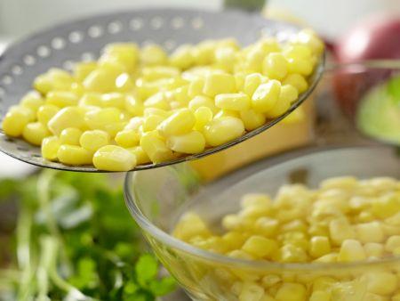 Mexikanischer Hähnchensalat: Zubereitungsschritt 3