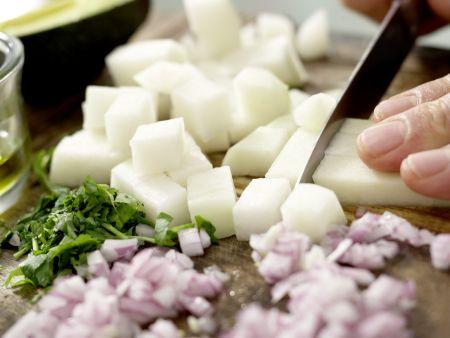 Mexikanischer Hähnchensalat: Zubereitungsschritt 5