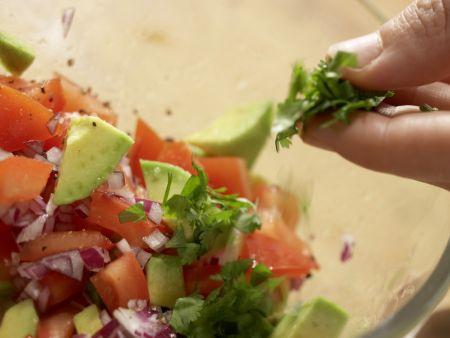 Mexikanischer Maisflan: Zubereitungsschritt 10