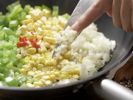 Mexikanischer Maisflan: Zubereitungsschritt 3