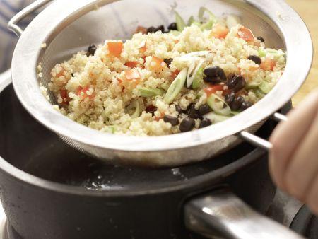 Mexikanischer Quinoa: Zubereitungsschritt 7