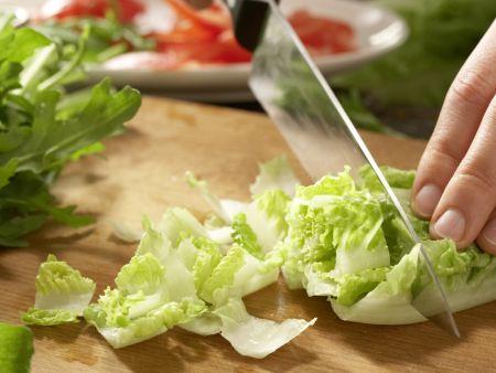 Mexikanischer Salat: Zubereitungsschritt 3