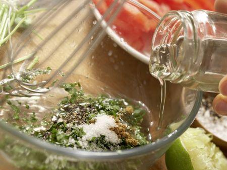 Mexikanischer Salat: Zubereitungsschritt 4