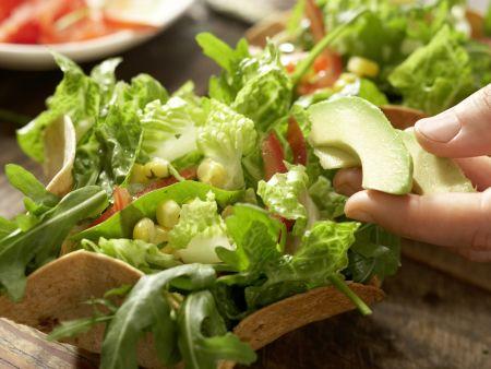 Mexikanischer Salat: Zubereitungsschritt 9