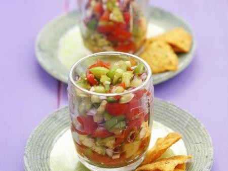 Mexikanischer Tomatensalat