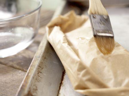 Miesmuscheln in Backpapier: Zubereitungsschritt 10