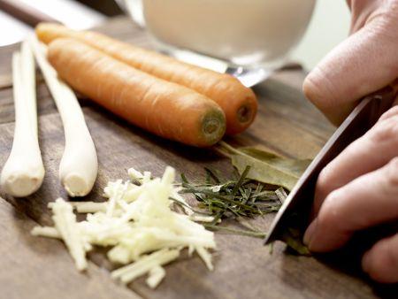 Miesmuscheln in Backpapier: Zubereitungsschritt 4