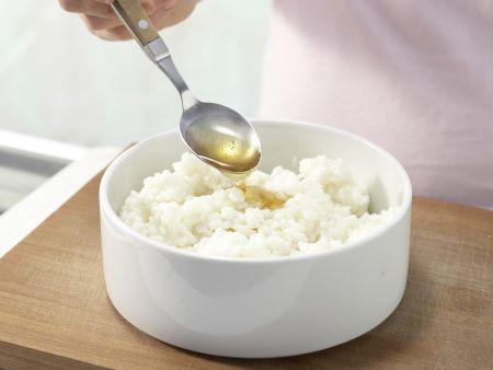 Milchreis mit Kiwi-Sauce: Zubereitungsschritt 4