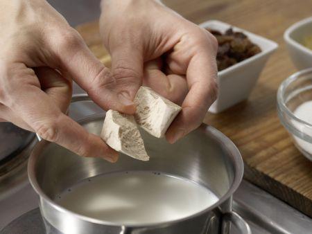 Mini-Panettone: Zubereitungsschritt 1