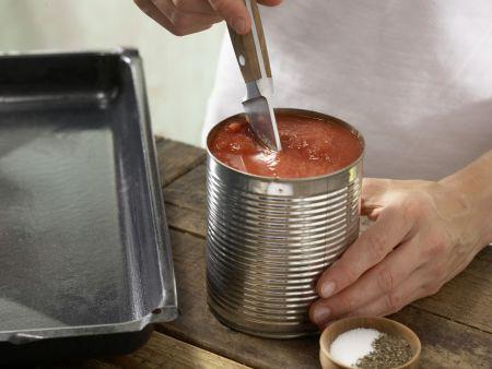Minischnitzel mit Couscous: Zubereitungsschritt 5