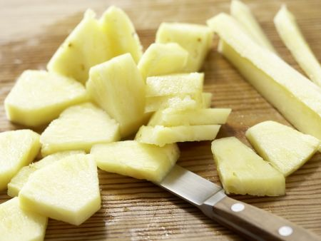 Möhren-Ananas-Salat: Zubereitungsschritt 2