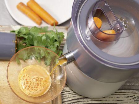 Möhren-Drink: Zubereitungsschritt 4