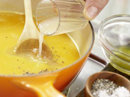 Möhren-Ingwer-Suppe: Zubereitungsschritt 6