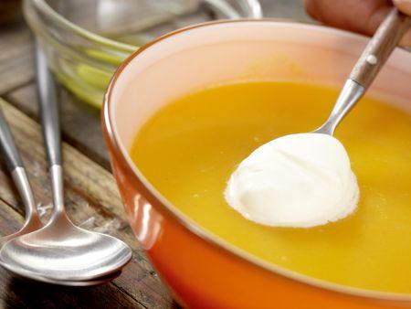 Möhren-Ingwer-Suppe: Zubereitungsschritt 8