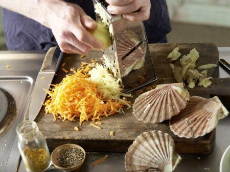 Möhren-Kartoffel-Rösti: Zubereitungsschritt 6