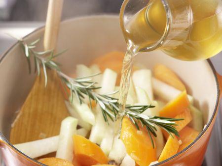 Möhren-Kohlrabi-Gratin: Zubereitungsschritt 4