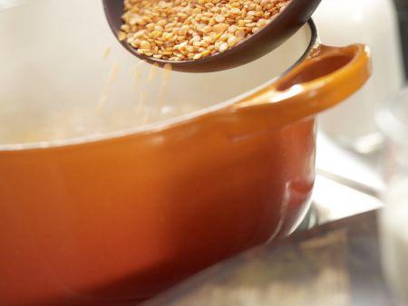 Möhren-Linsen-Püree: Zubereitungsschritt 2