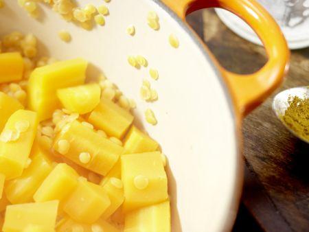 Möhren-Linsen-Püree: Zubereitungsschritt 4