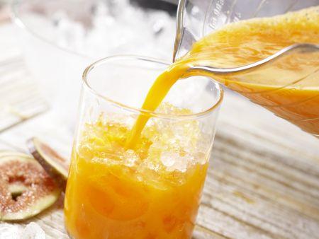 Möhren-Mandarinen-Drink: Zubereitungsschritt 5