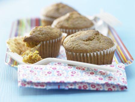 "Rezept: Möhren-Mandel-Muffins ""Kronjuwelen"""