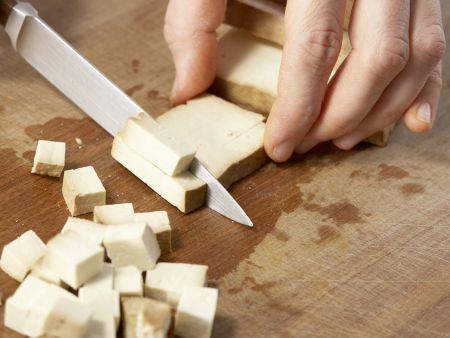 Möhren-Nudeltopf mit Erbsen: Zubereitungsschritt 4