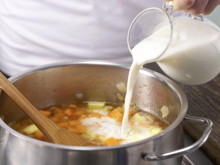 Möhren-Orangen-Suppe: Zubereitungsschritt 3