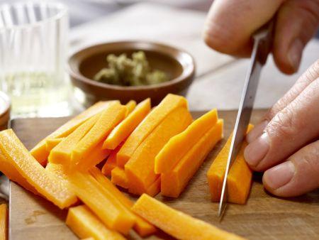 Möhren-Paprika-Curry: Zubereitungsschritt 2