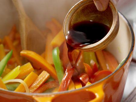 Möhren-Paprika-Curry: Zubereitungsschritt 7