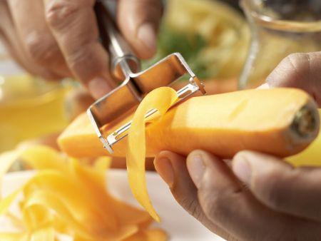 Möhren-Pasta: Zubereitungsschritt 2