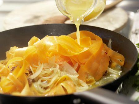 Möhren-Pasta: Zubereitungsschritt 6