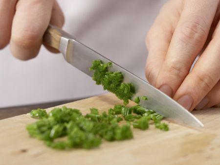 Möhren-Schnittlauch-Quark: Zubereitungsschritt 1