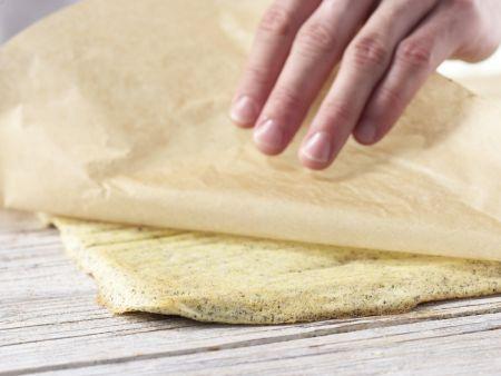 Mohn-Hagebutten-Schnitten: Zubereitungsschritt 5