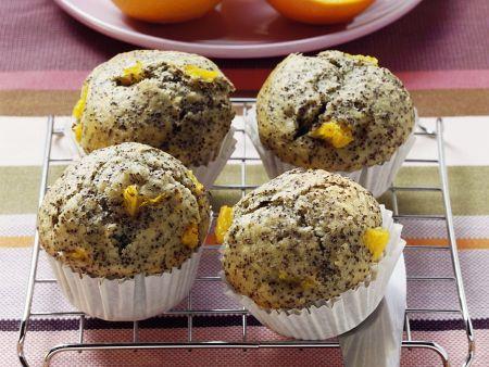 Mohn-Muffins mit Orange